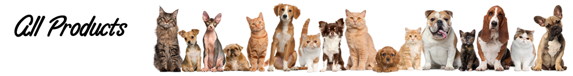 Find and buy pet products for dog and cat care.