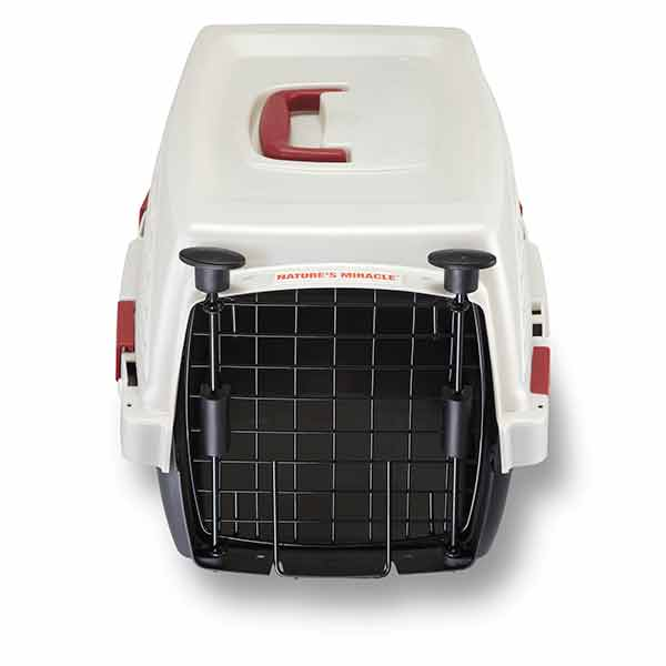 Single Door Plastic Dog & Cat Crates with Odor Control Charcoal Filter