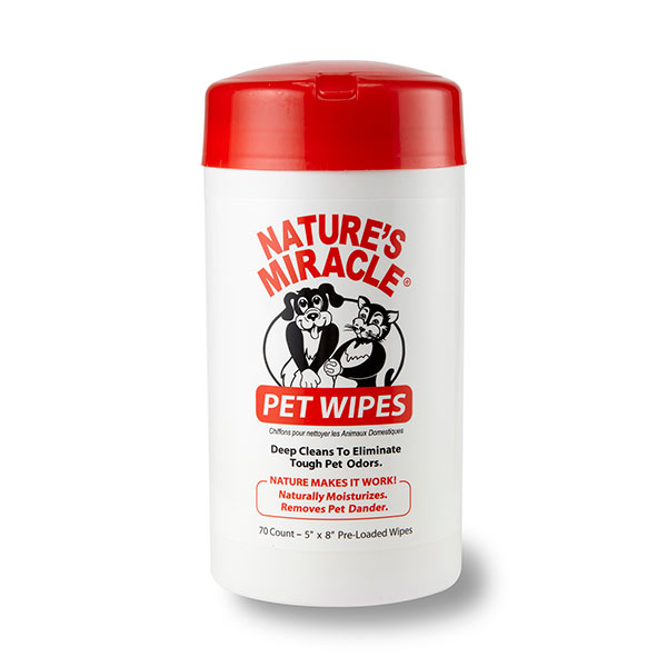 Bath Pet Cleaning Wipes, 70 Count