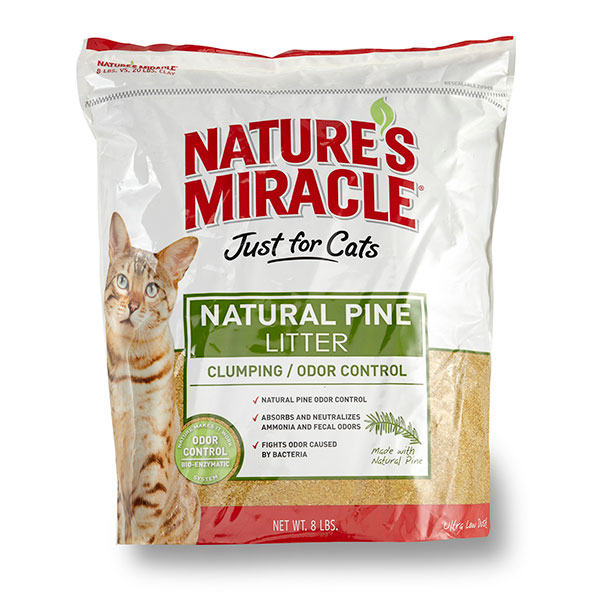 Just for Cats - Natural Pine Cat Litter