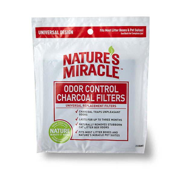 Just for Cats - Odor Control Universal Charcoal Filter