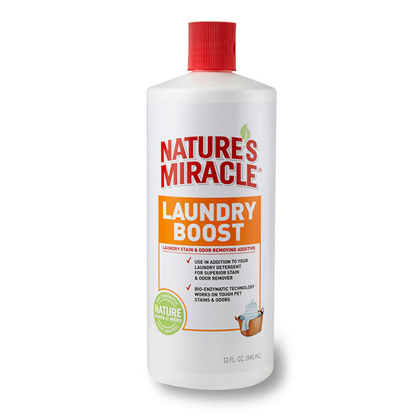 Laundry Boost Pet Stain & Odor Remover Additive